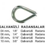 GALVANİZLİ RADANSALAR